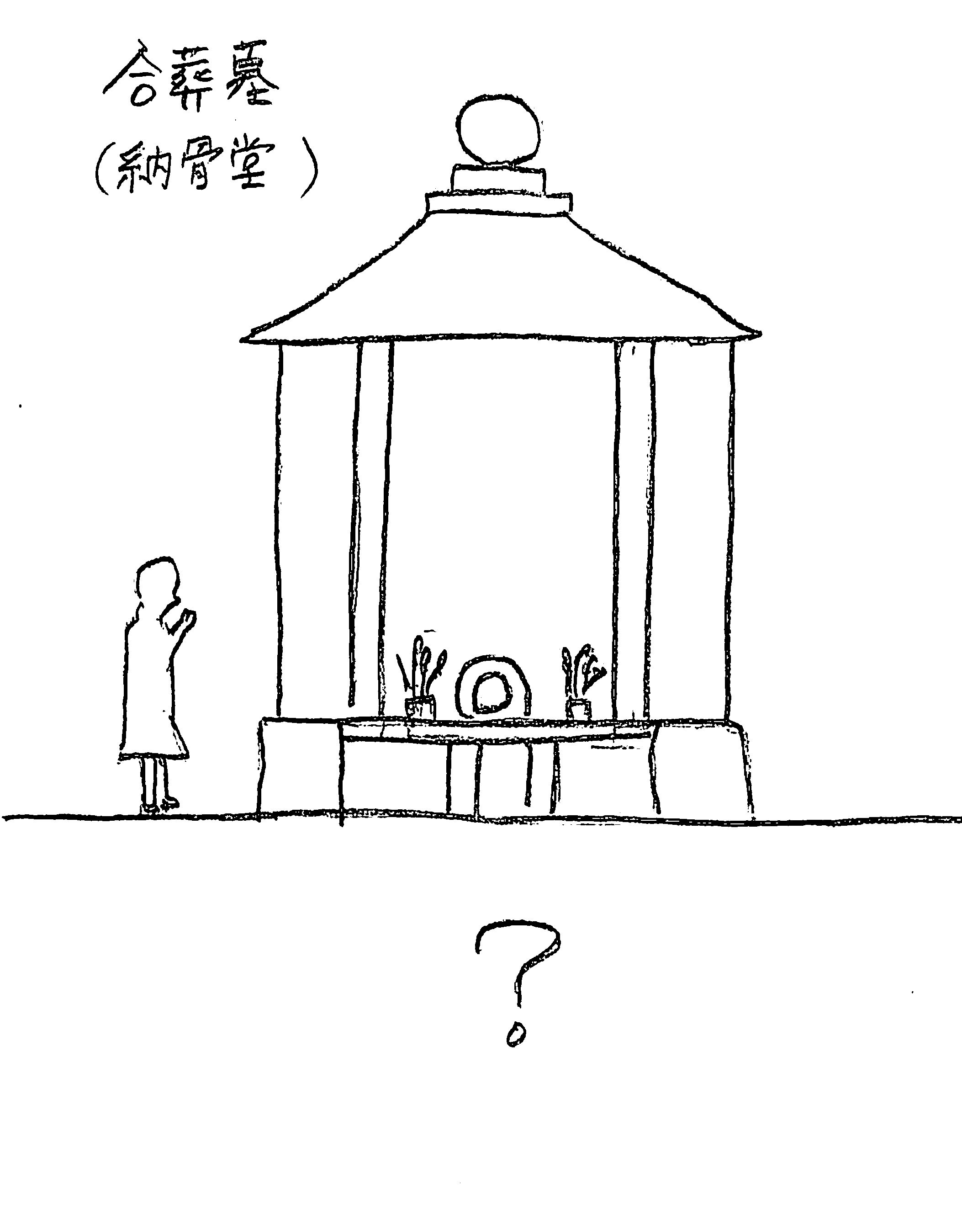 合葬墓の外観